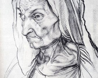 """Dürer's Mother"" by Jack Kristiansen  (Squalorly 8, Summer 2014)"